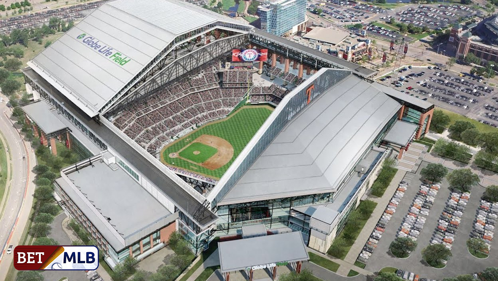 MLB Eyes Texas Globe Life Field Baseball Park As Venue For 2020